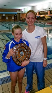 Daisy, Swimmer of the Year 2014