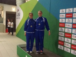 Beth & Shannon - Silver Medallists