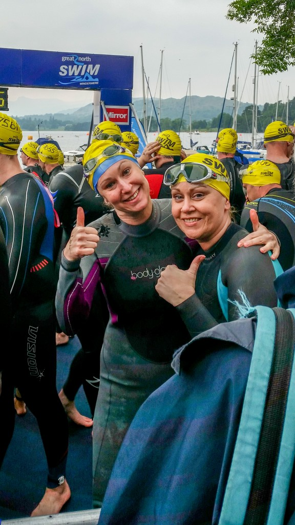 Alex & Grace - Great North Swim